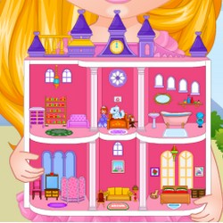 Barbie Room Games