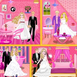 wedding doll house makeover